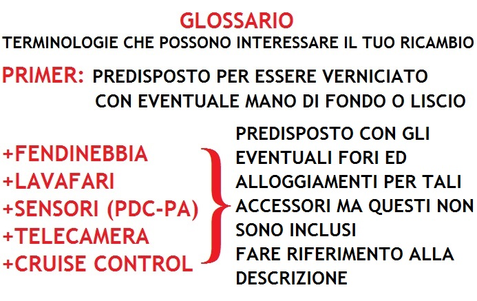 GRIGLIA PARAURTI ANTERIORE LATERALE SINISTRA PER FIAT 500 ABARTH 07/>